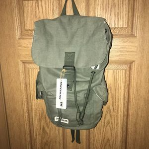 Skechers Canvas Military Style Backpack Unisex